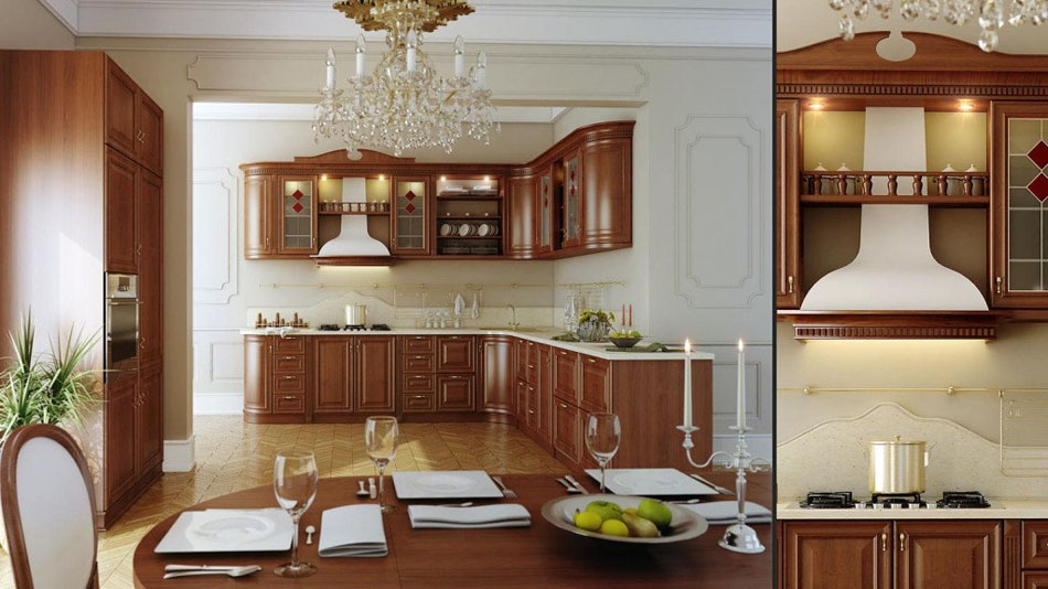 Making of realistic kitchen-01