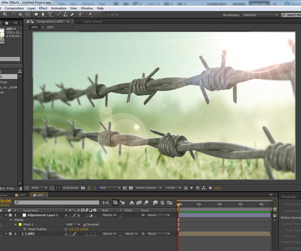 Making a Barbed Wire Scene in 3ds Max-36